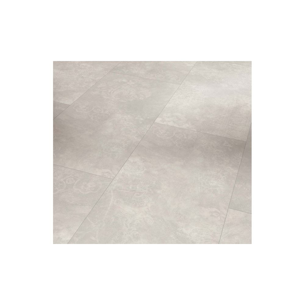 Parador Modular ONE - BETON ORNAMENT SVĚTLE ŠEDÝ, STRUKTURA KAMENE - vinylová podlaha CLICK