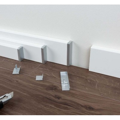 Univerzální zakončovací zápustky typ 2 pro podlahové lišty SL 3, SL 5, SL 6 a SL 18