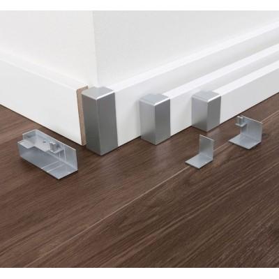 Univezrální vnější rohy typ 2 pro podlahovou lištu SL 3, SL 5, SL 6 a SL 18
