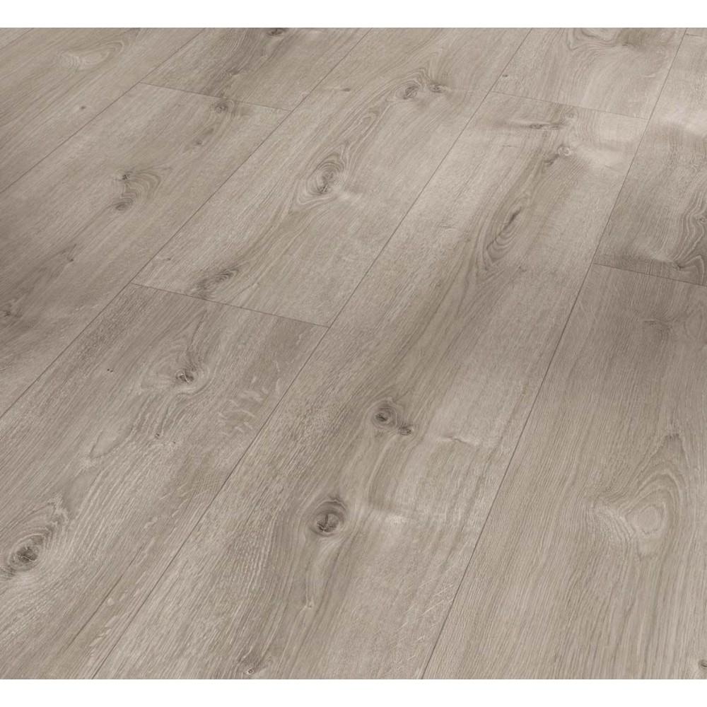Parador Basic 600- Dub Valere perlově šedý bělený  přírodní struktura 4V - laminátová plovoucí podlaha