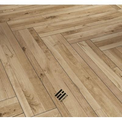 Parador Trendtime 3 - Multiplank Mix přírodní rustikální struktura Iconics 4V - laminátová plovoucí podlaha