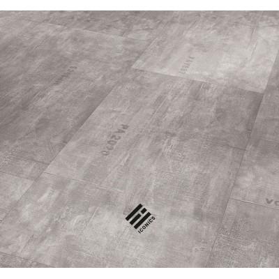 Parador Trendtime 5 - Industrial Canvas grey struktura minerální Iconics - vinyl s nosnou deskou SPC - CLICK