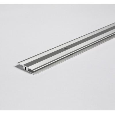 Parador - Hliníkový profil přechodový - Eloxovaný hliník, stříbrná
