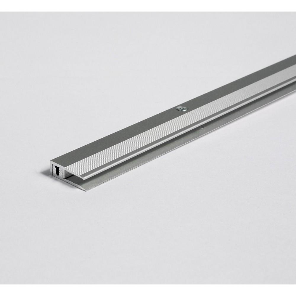 Parador - Hliníkový profil zakončovací - eloxovaný hliník, stříbrný